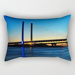 Indian River Inlet Bridge Rectangular Pillow