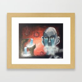 """Thing 1"" Framed Art Print"