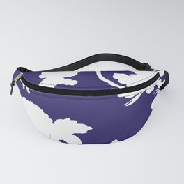 Chinoiserie Silhouette Navy Fanny Pack