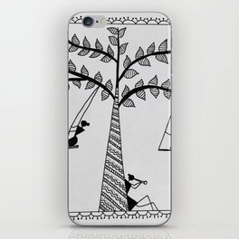 Warli Art iPhone Skin