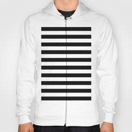Stripes (Black & White Pattern) Hoody