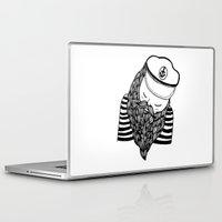 captain Laptop & iPad Skins featuring Captain by Moran Bazaz