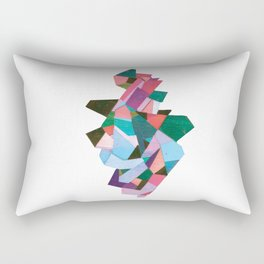 bach abstraction Rectangular Pillow