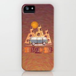 Lost Pizza iPhone Case
