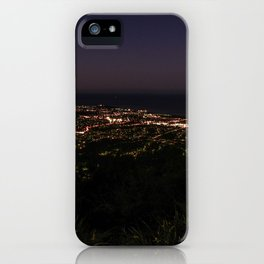 Wollongong from Mount Keira Sumit iPhone Case