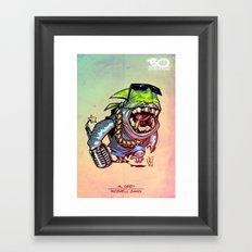 Rozwell gang - Al Grey - Villains of G universe Framed Art Print