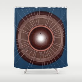 Digital Records Shower Curtain