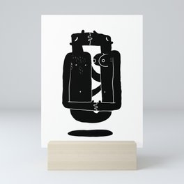 Razor blade Mini Art Print