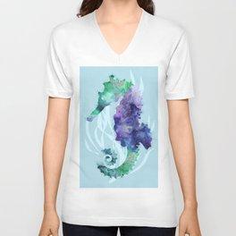Mystical Seahorse Unisex V-Neck