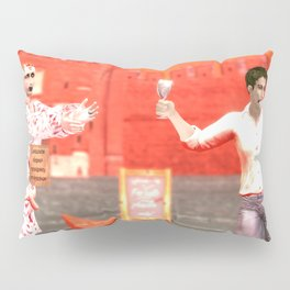 SquaRed: Give it to me Pillow Sham