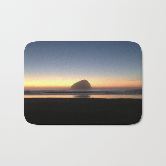 Sunset over the Pacific Bath Mat