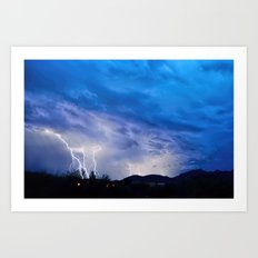 2015 Arizona Monsoon_2 Art Print