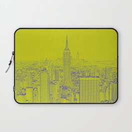 Empire State - Green Laptop Sleeve