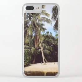 Gator Island Clear iPhone Case