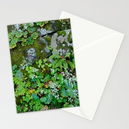 moss wall Stationery Cards