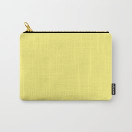 Dunn & Edwards 2019 Trending Colors Chickadee (Bright Yellow) DE5403 Solid Color Carry-All Pouch