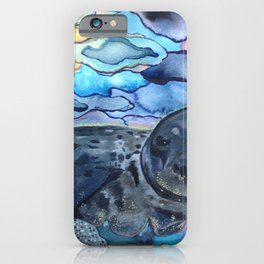 Cliffnote the Baby Harbor Seal iPhone Case