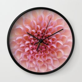 Pink Chrysanthemum photo wall clock Wall Clock