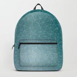 Triangular Cool Blues Backpack