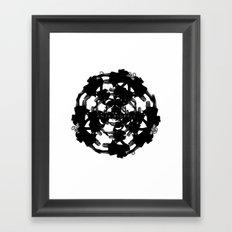 Anja Bigrell - The explosion2 Framed Art Print