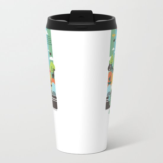 Paint your world Metal Travel Mug