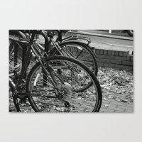 bikes Canvas Prints featuring Bikes  by Renatta Maniski-Luke
