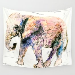 elephant queen - the whole truth Wall Tapestry