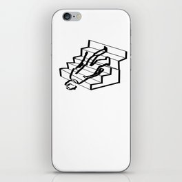 Stair problems iPhone Skin