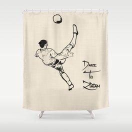 Dare To Zlatan 2 Shower Curtain