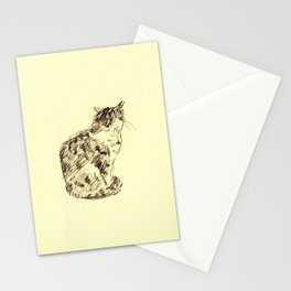 cat 010 Stationery Cards