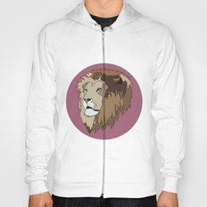 Wild Rectangular Lion Hoody