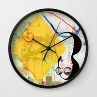 sunshine Wall Clocks featuring Sunshine by John Murphy
