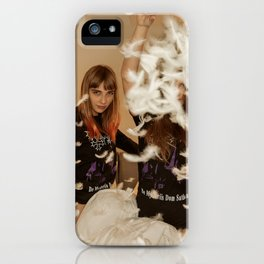 Pillow Fight iPhone Case