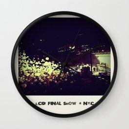 LCD Soundsystem Final Show Wall Clock