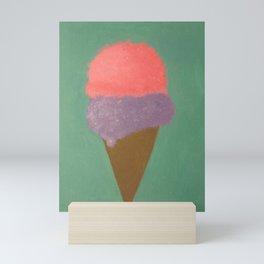 Ice Cream Snow Cone Mini Art Print