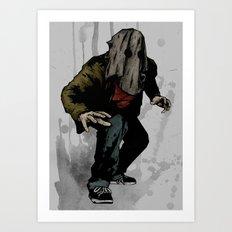 Vigilante #6 Art Print