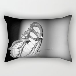 Black and white butterfly Rectangular Pillow