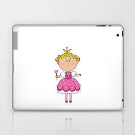 Pink Love Girl - Valentines Day Laptop & iPad Skin