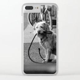 Alone... Clear iPhone Case