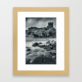 Kinbane Castle IV Framed Art Print