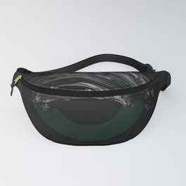 Green Smile Fanny Pack