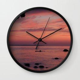 Nightdrifter Wall Clock