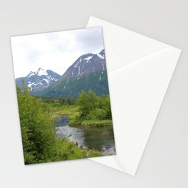 River Through The Mountains 2 Stationery Cards