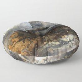 Hollow Ocean Floor Pillow