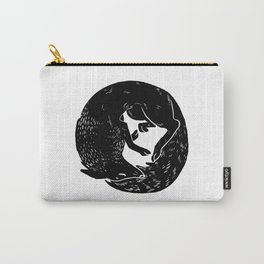 black and white thoughts Carry-All Pouch