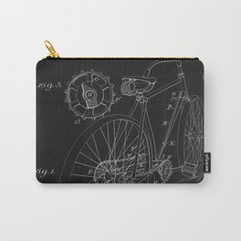 Bicycle Blueprint drawing Carry-All Pouch