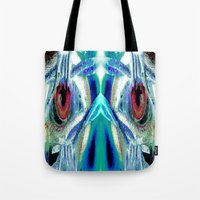 pain Tote Bags featuring Pain by Robin Curtiss