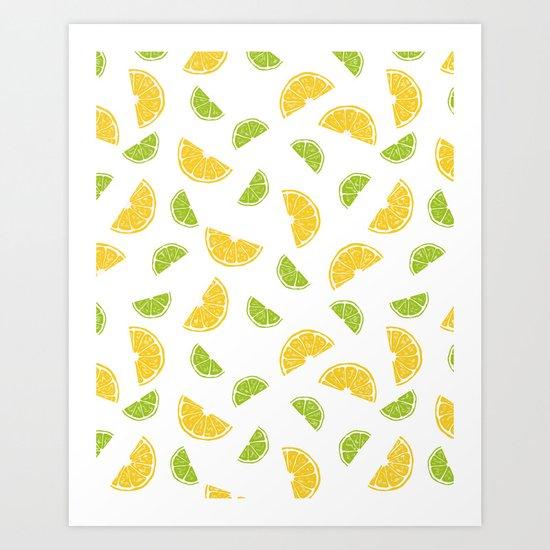 Citrus Sours Art Print