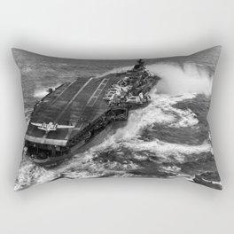 USS Essex Aircraft Carrier - 1960 Rectangular Pillow