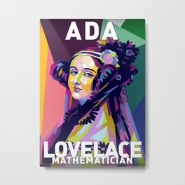 Ada Lovelace Metal Print